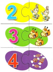 Mathematical puzzle numbers