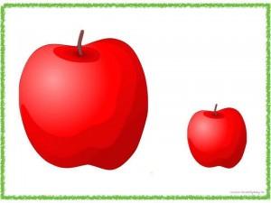 big_and_small_apple