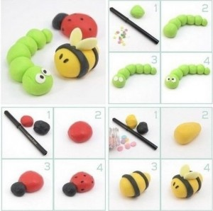 how_to_make_playdough_bee_caterpillar