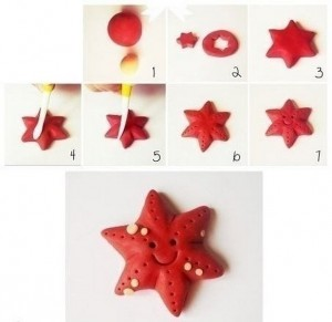how_to_make_playdough_starfish