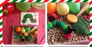 montessori_caterpillar_sensory_table
