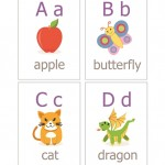 Alphabet Cards Printable Pictures