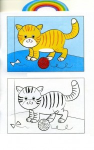 animals coloring pages cat