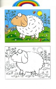 animals coloring pages sheep