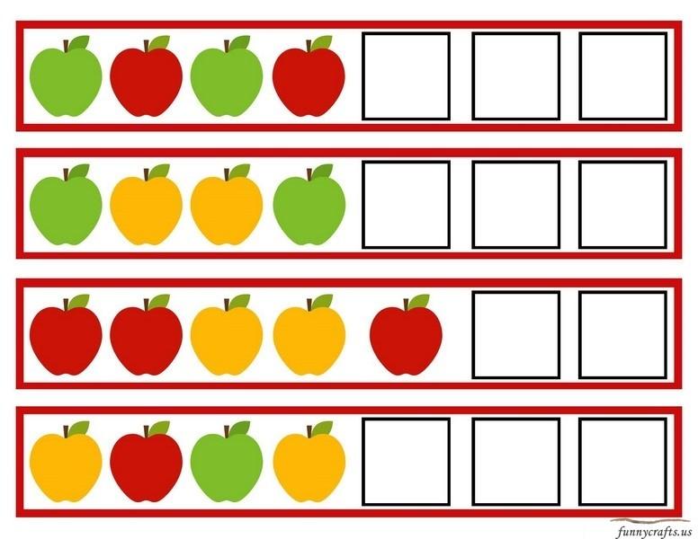 Apple Pattern Funnycrafts
