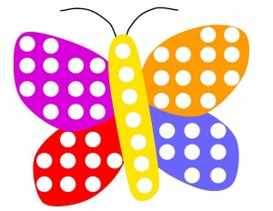 butterfly do a dot