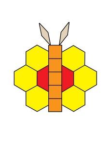 butterfly tangram
