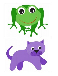 cat and frog puzzle