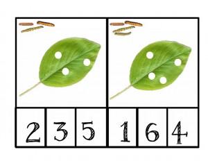 caterpillar number activities