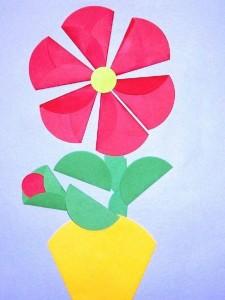 circle paper crafts and arts