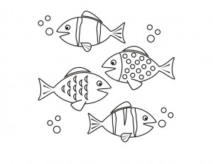 coloring pages fısh