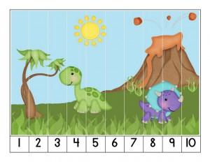 dinosaur cool puzzle