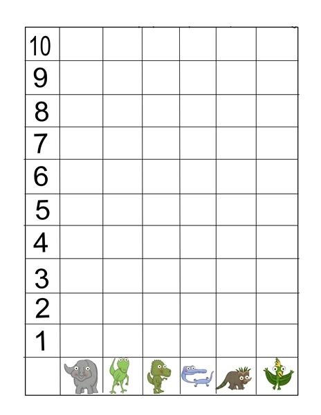 Dinosaur Graph Activities 171 Funnycrafts