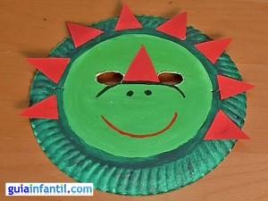 dinosaur paper plate activity