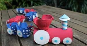 egg box craft vehicles