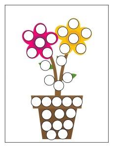 flowers spring do a dot (2)