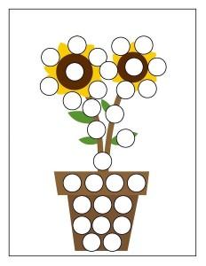 flowers spring do a dot