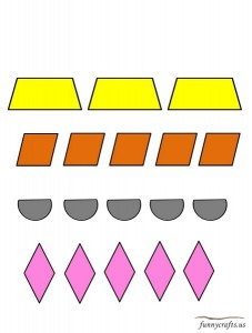geometric shapes exercise