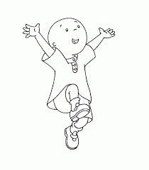happy caillou