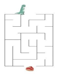 labyrinth dinosaur