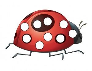 ladybugs do a dot