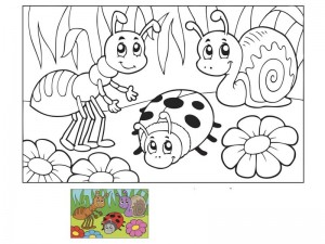 look and coloring pages