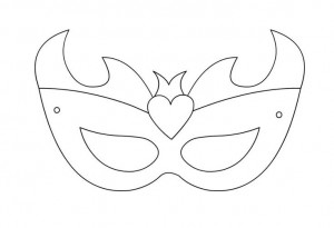 mask template for todler