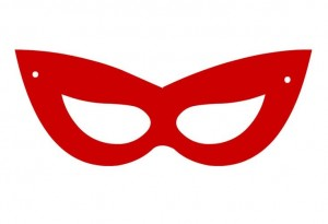 mask template super hero
