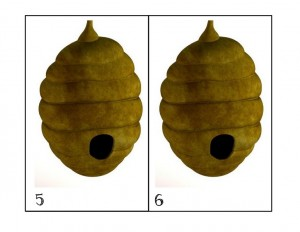 number bee bugs activities
