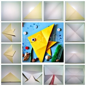 origami fısh crafts