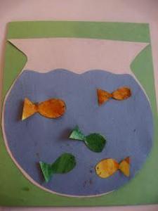 paper arts and crafts aquarium