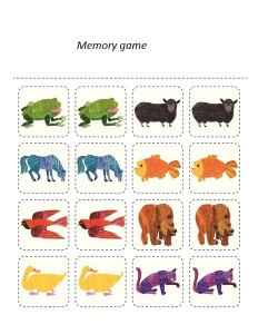 polar bear memory games