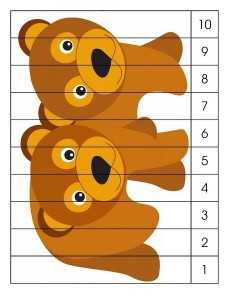 polar bear number puzzle
