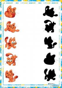 preschool activities shadow cat
