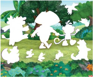preschool activities shadow story