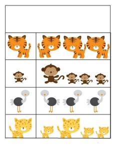 preschool animals
