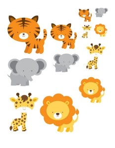 preschool animals sıze activities