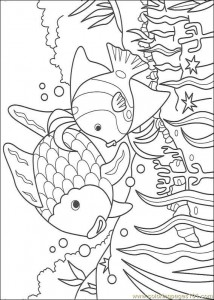printable fısh coloring pages