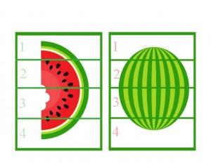 puzzle watermelon