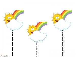rainbow cutting