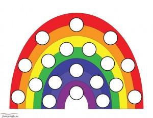 rainbow do a dot activity