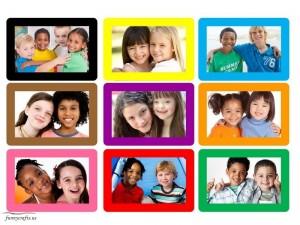 rainbow memory game activity