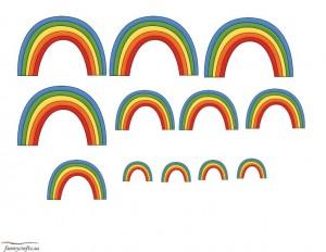 rainbow sıze activity