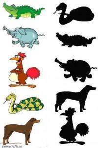 shadow matching animals (2)