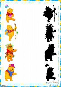 shadow matching bear