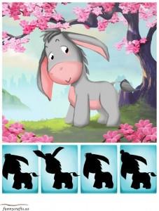 shadow matching donkey