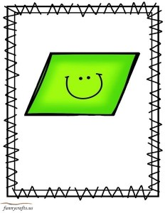 shapes parallelogram