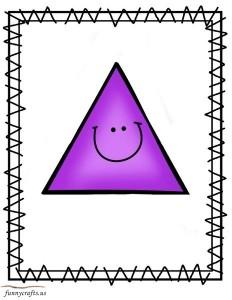 shapes triangle
