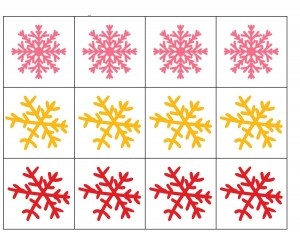 snowflake pattern activities