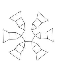 snowflake pattern design activities